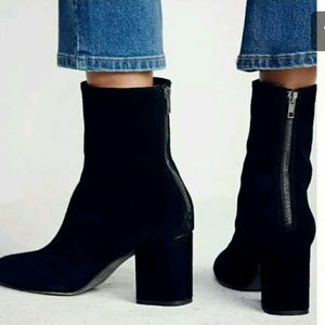 Free People Boots Women's Cecile Black 9